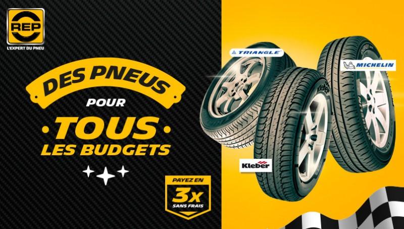 Des pneus pour tous les budgets